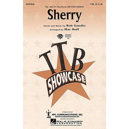 Hal Leonard Sherry TTBB by The Four Seasons arranged by Mac Huff thumbnail
