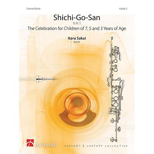 De Haske Music Shichi-Go-San Concert Band Level 5 Composed by Itaru Sakai thumbnail