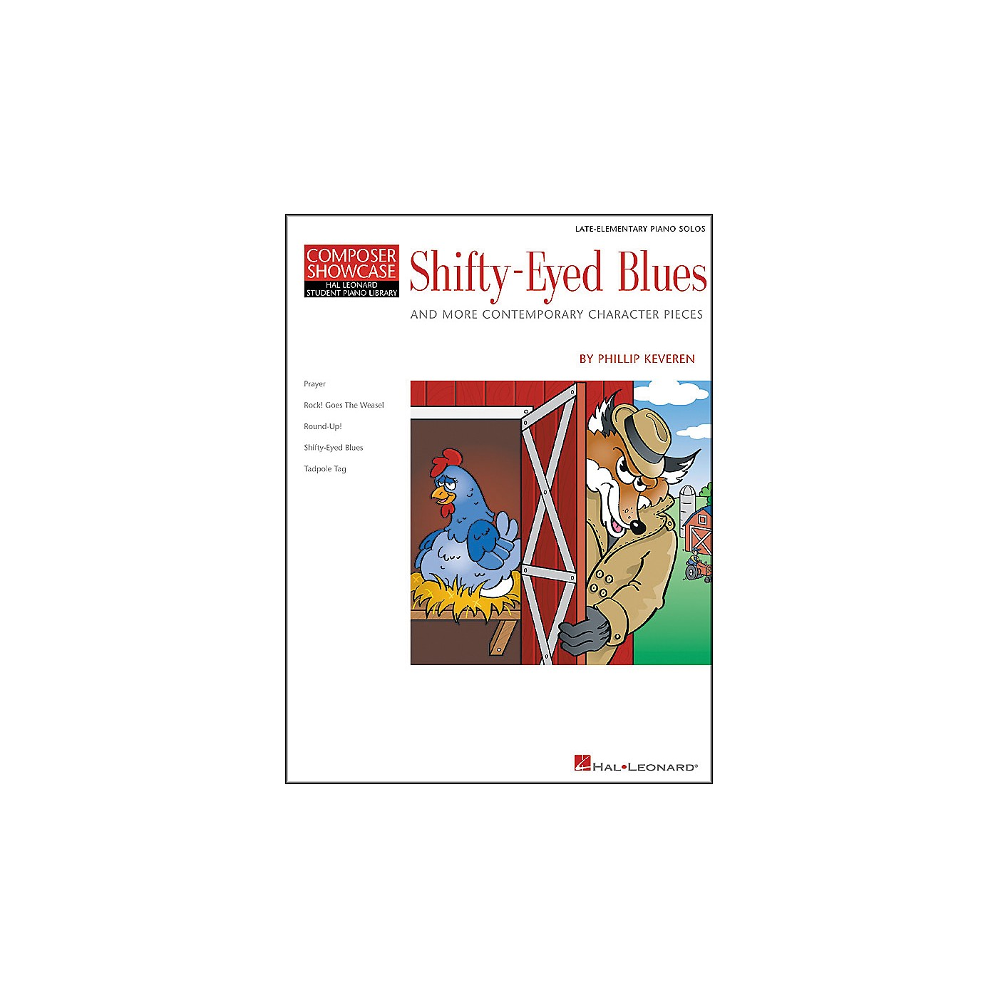 Hal Leonard Shifty-Eyed Blues Late Elementary Piano Solos Composer Showcase Hal Leonard Student Piano Library by Phillip Keveren thumbnail