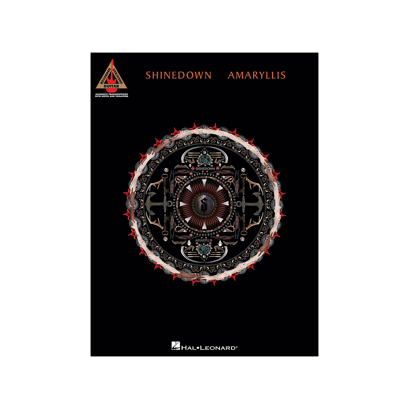 Hal Leonard Shinedown Amaryllis Guitar Tab Songbook thumbnail
