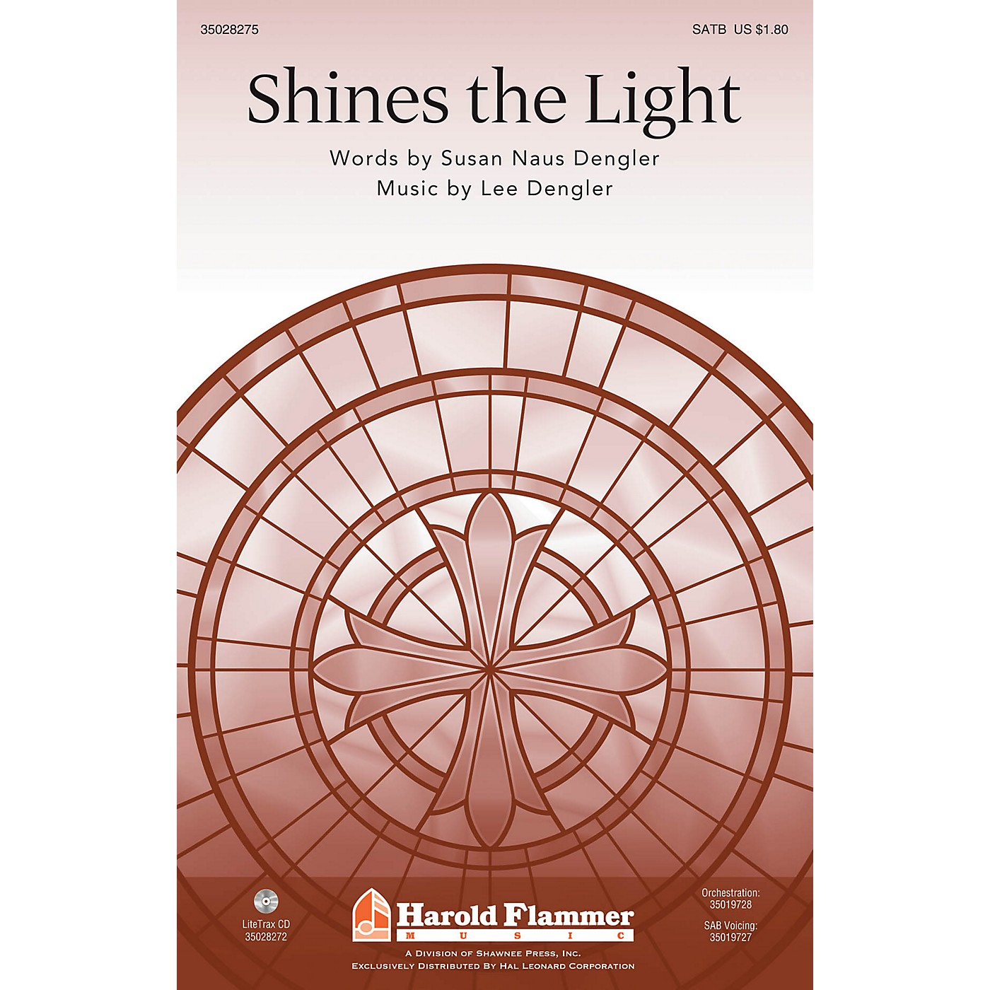 Shawnee Press Shines the Light SATB composed by Lee Dengler thumbnail