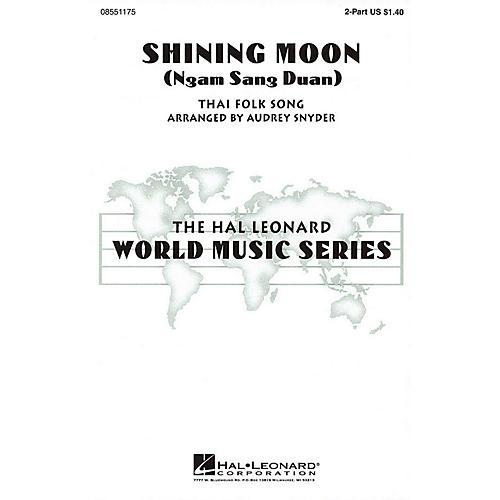 Hal Leonard Shining Moon (Ngam Sang Duan) 2-Part arranged by Audrey Snyder thumbnail