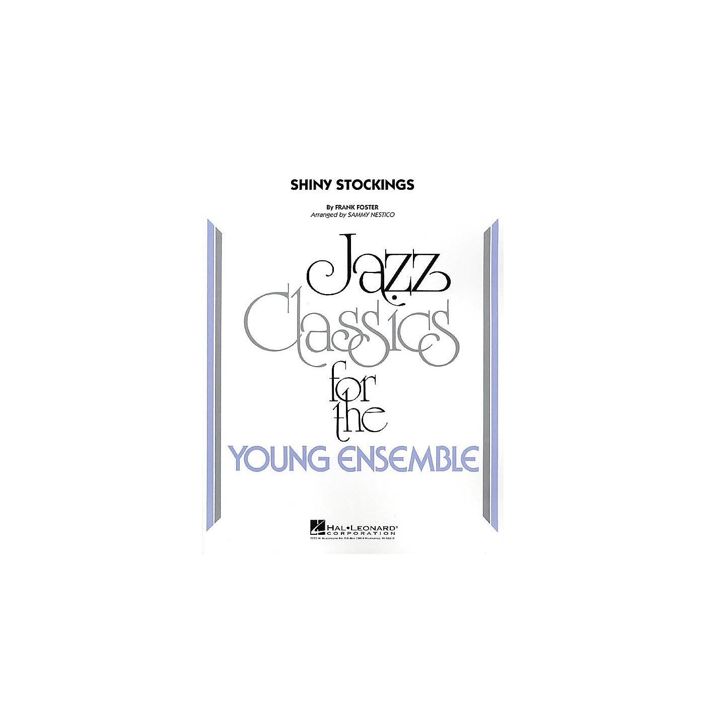 Hal Leonard Shiny Stockings Jazz Band Level 3 Arranged by Sammy Nestico thumbnail