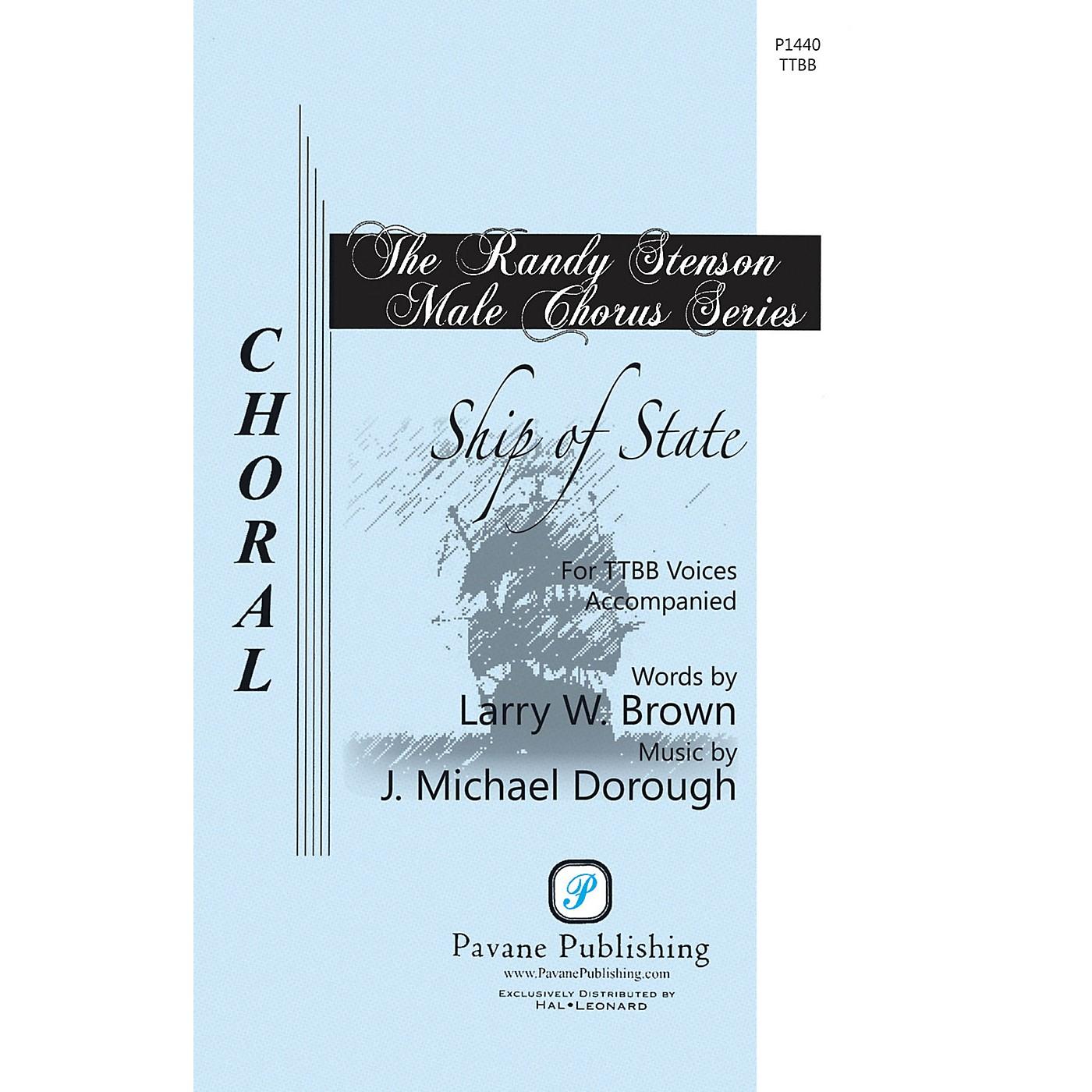 Pavane Ship of State TTBB composed by J. Michael Dorough thumbnail