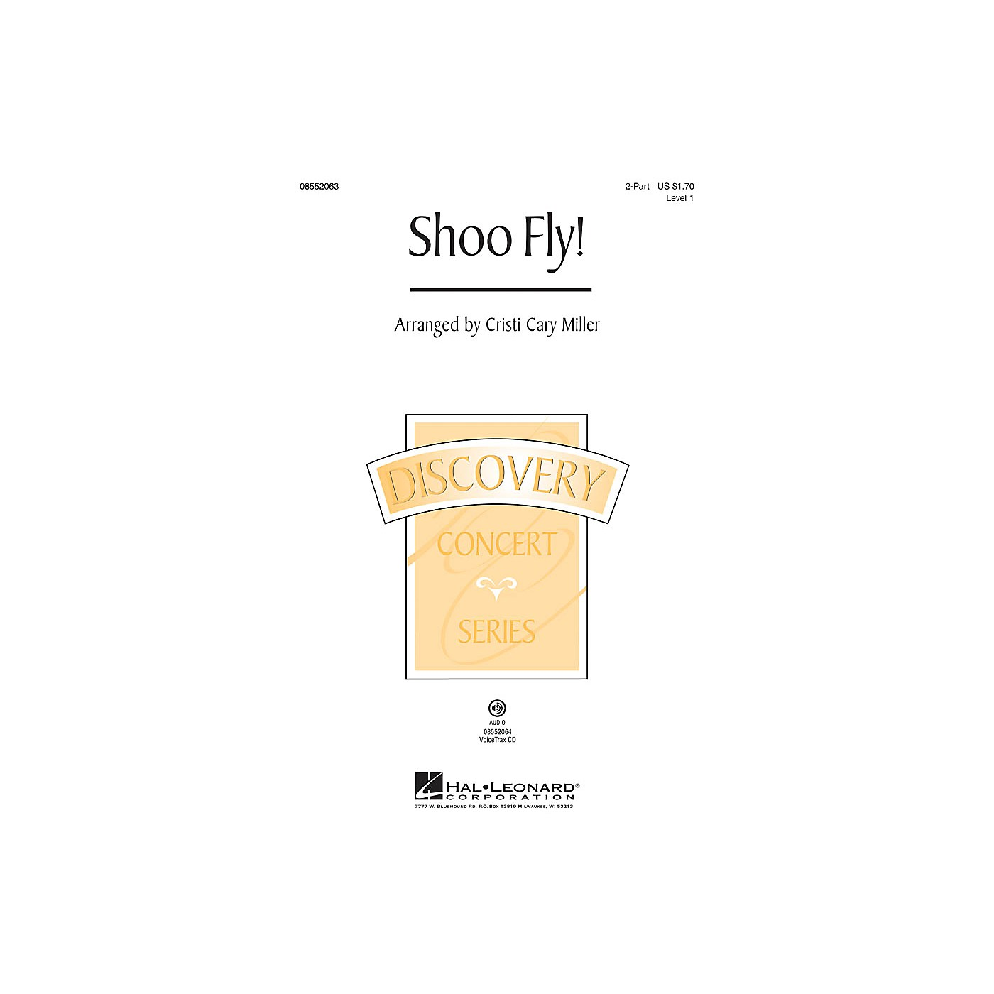 Hal Leonard Shoo Fly! (Discovery Level 1) 2-Part arranged by Cristi Cary Miller thumbnail
