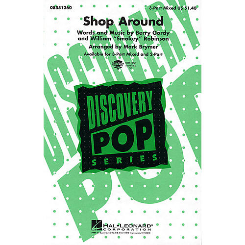 Hal Leonard Shop Around 3-Part Mixed arranged by Mark Brymer thumbnail