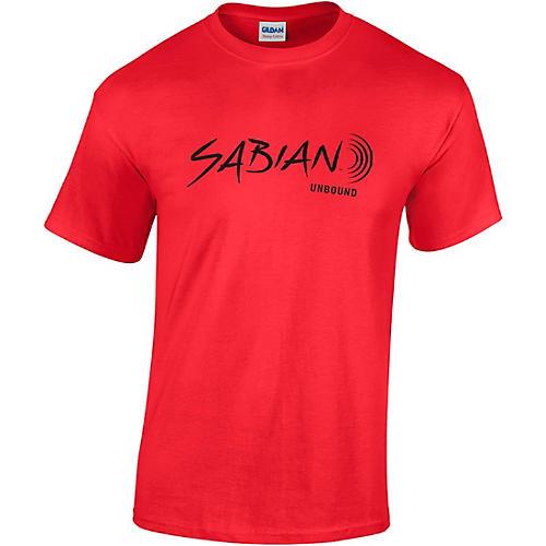 Sabian Short Sleeve Logo Tee Canvas Red thumbnail