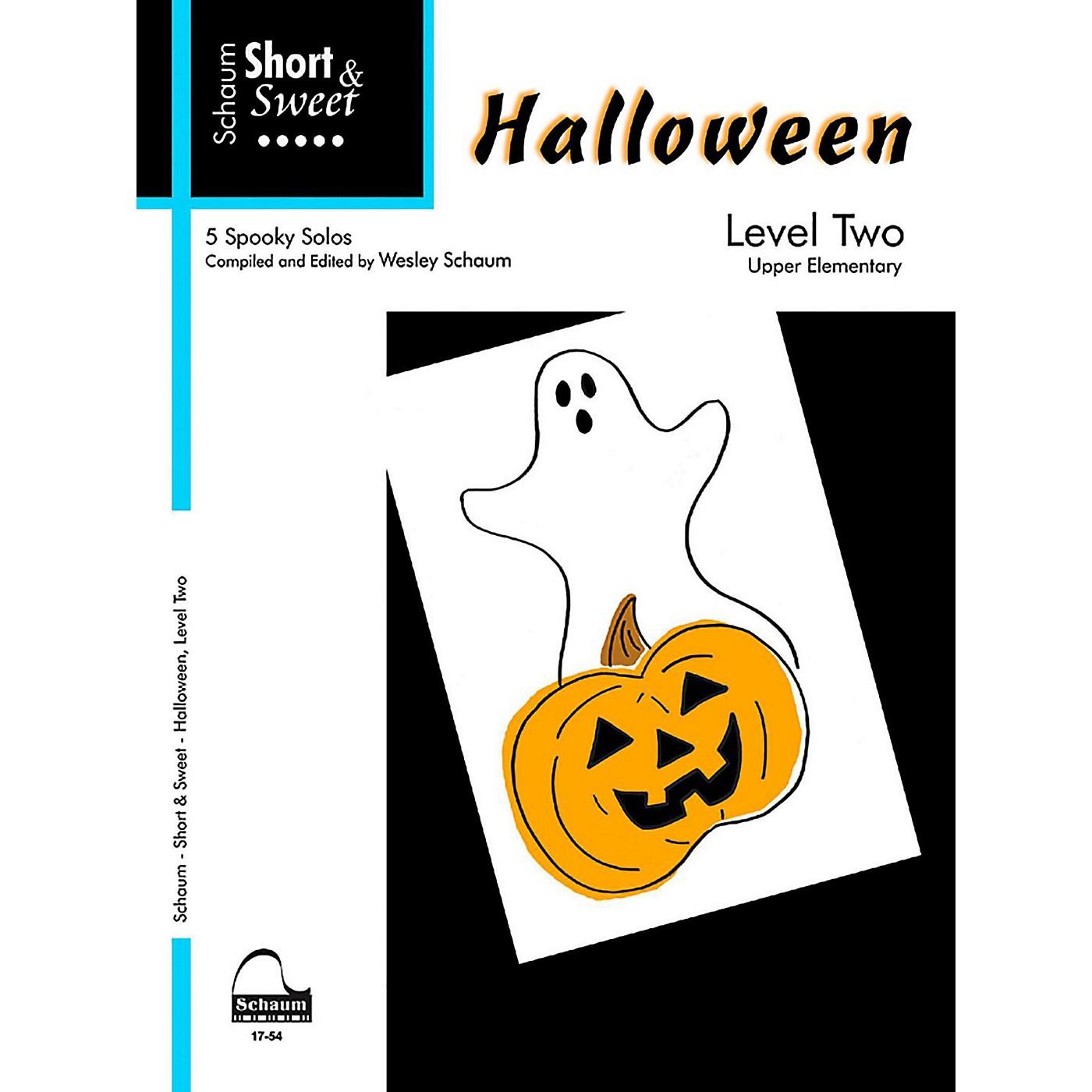 SCHAUM Short & Sweet Halloween, Level Two Late Elementary thumbnail