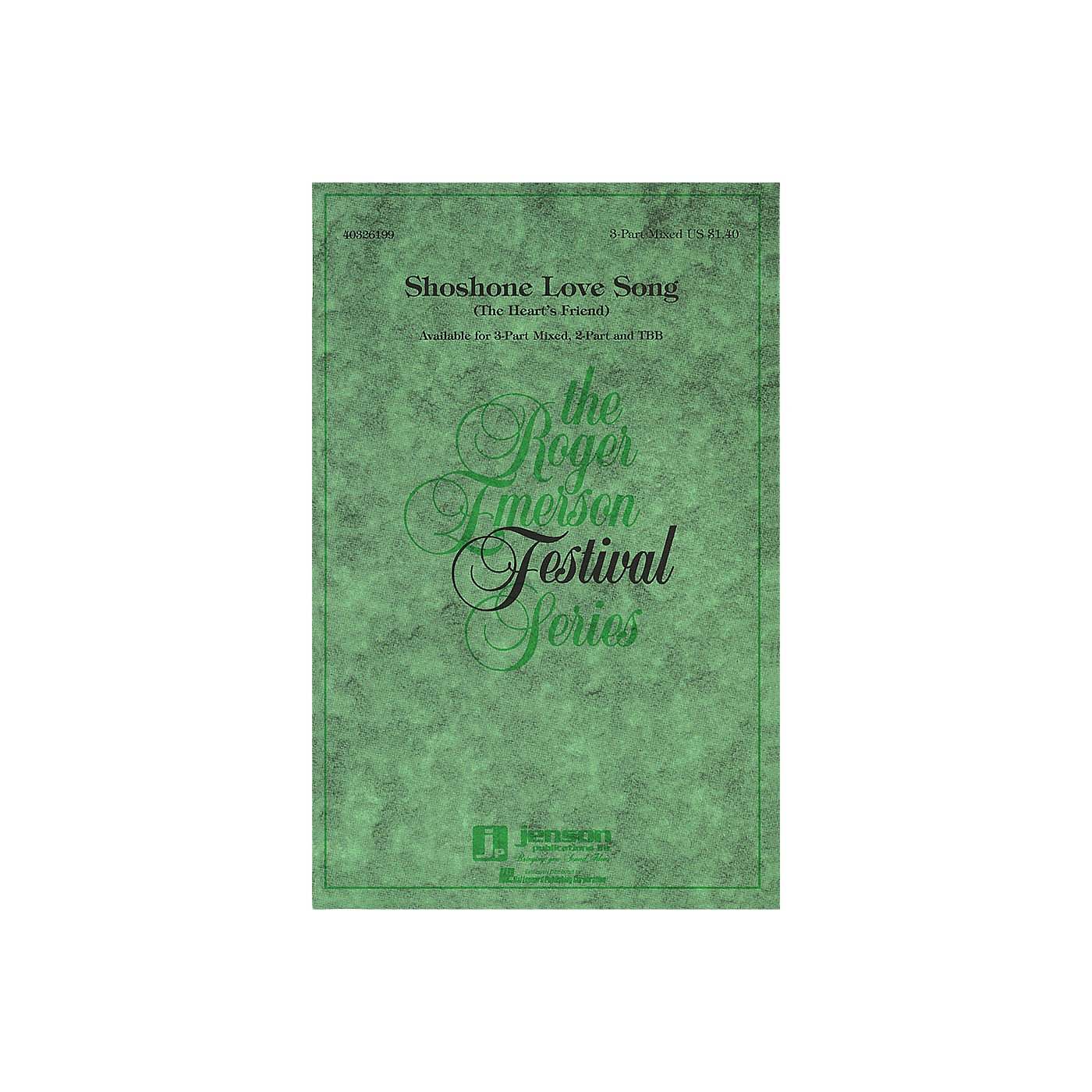 Hal Leonard Shoshone Love Song (The Heart's Friend) TBB Arranged by Roger Emerson thumbnail