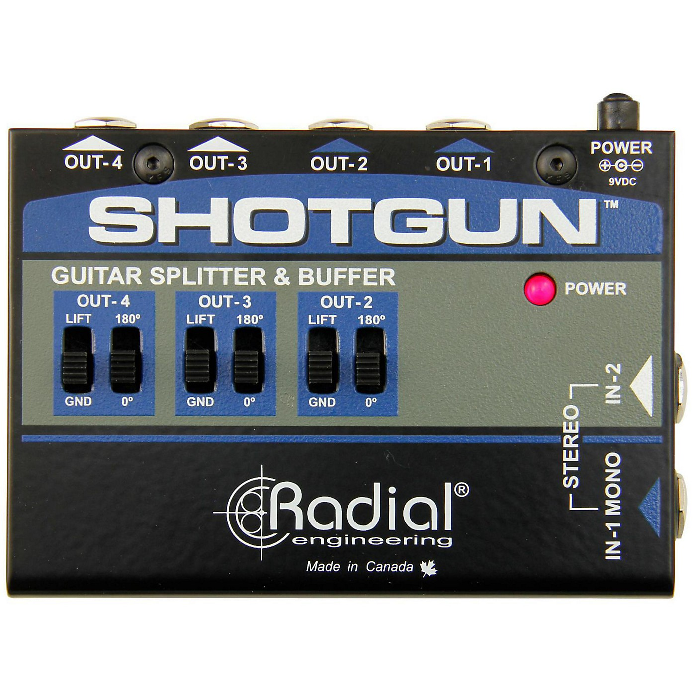 Radial Engineering Shotgun 4 Channel Amp Driver thumbnail