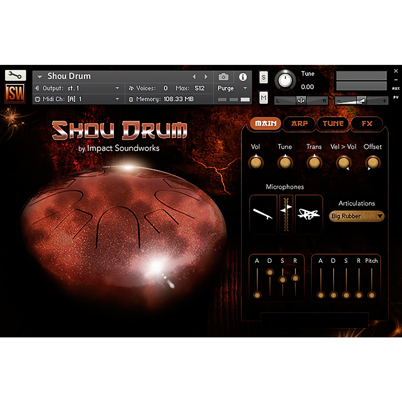 Impact Soundworks Shou Drum (Download) thumbnail