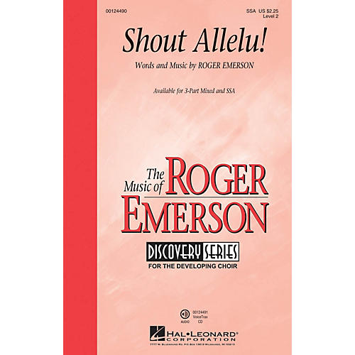 Hal Leonard Shout Allelu! (Discovery Level 2) SSA composed by Roger Emerson thumbnail