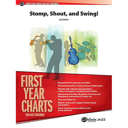 Alfred Shout, Stomp, and Swing! Jazz Band Grade 1 Set thumbnail
