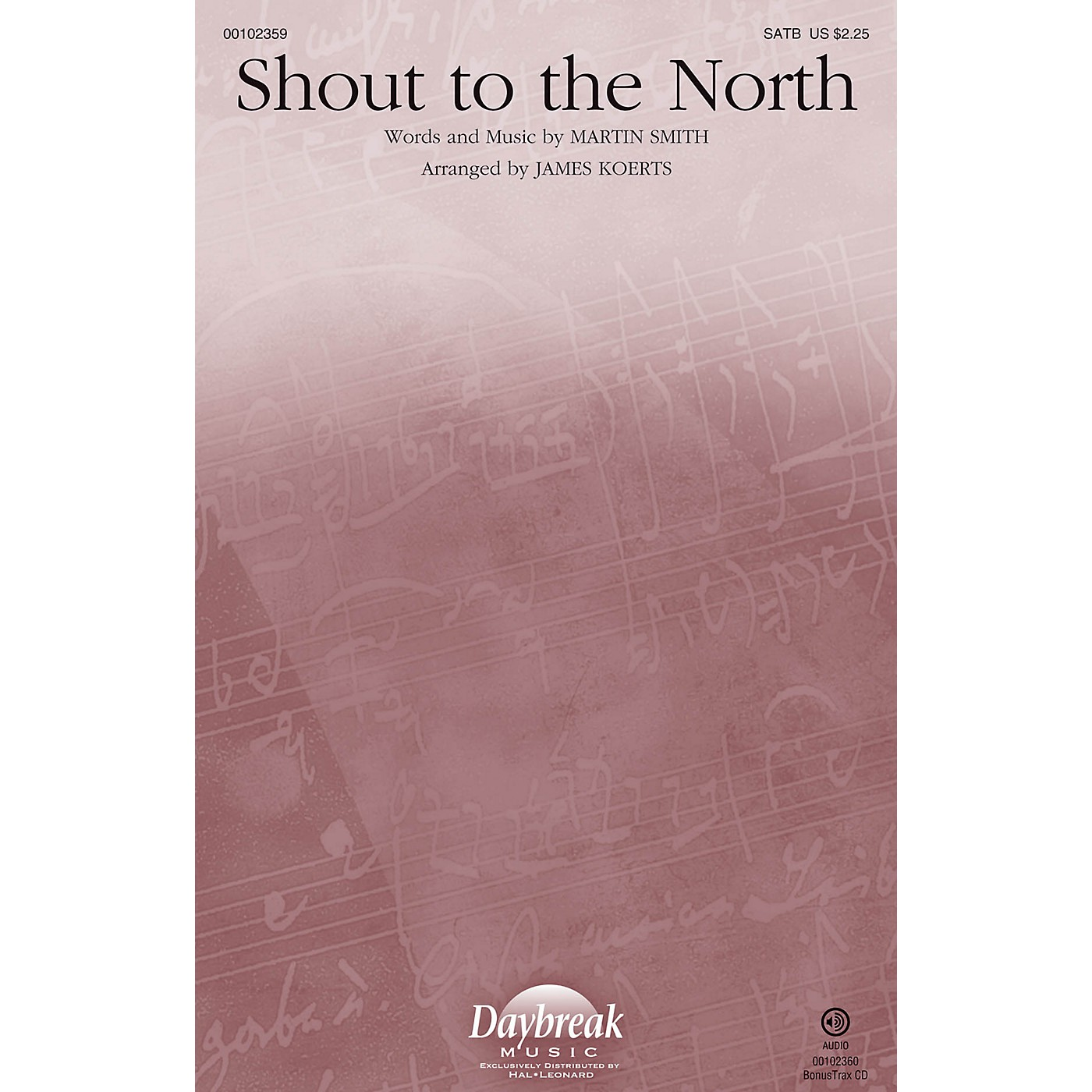 Daybreak Music Shout to the North SATB arranged by James Koerts thumbnail