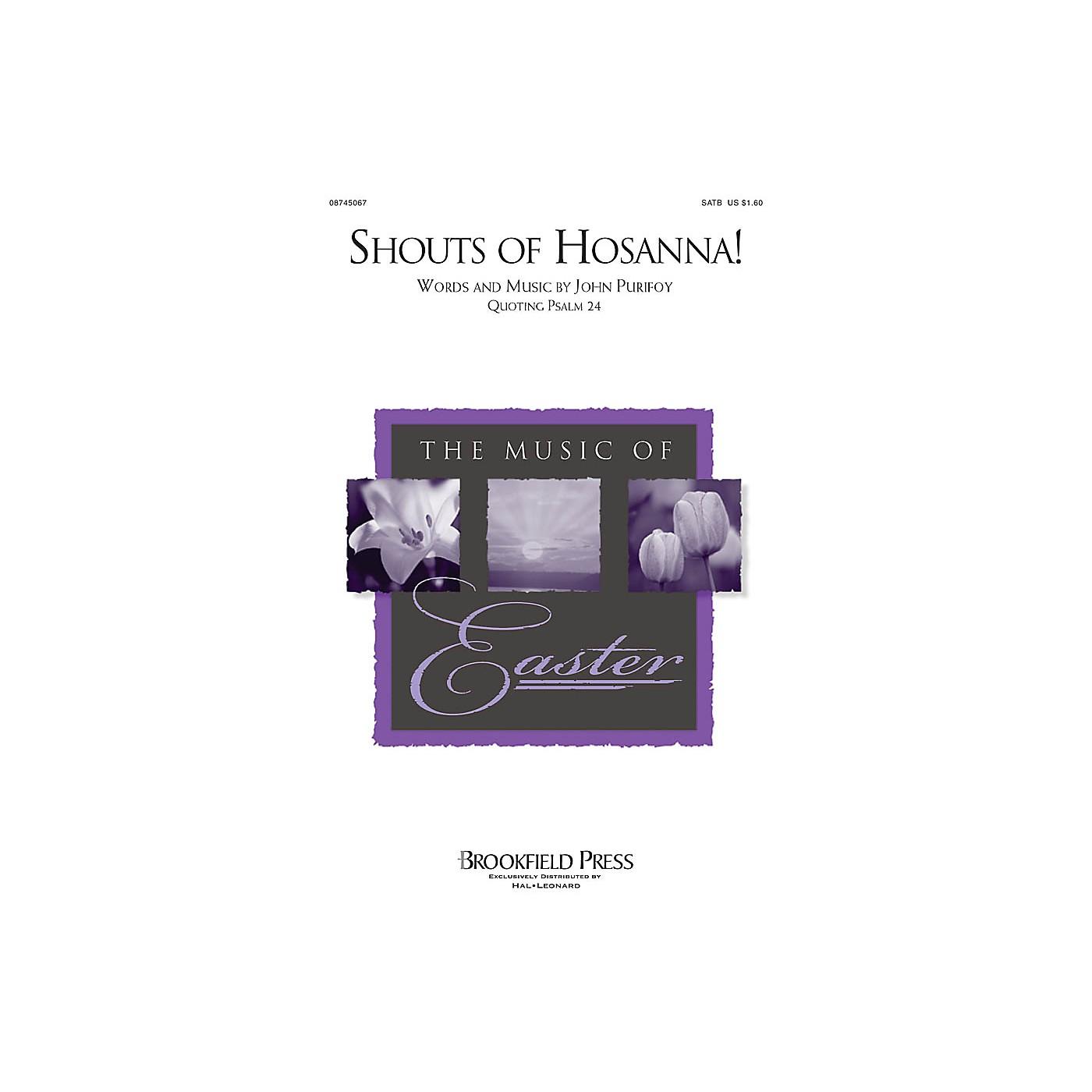 Brookfield Shouts of Hosanna! SATB composed by John Purifoy thumbnail