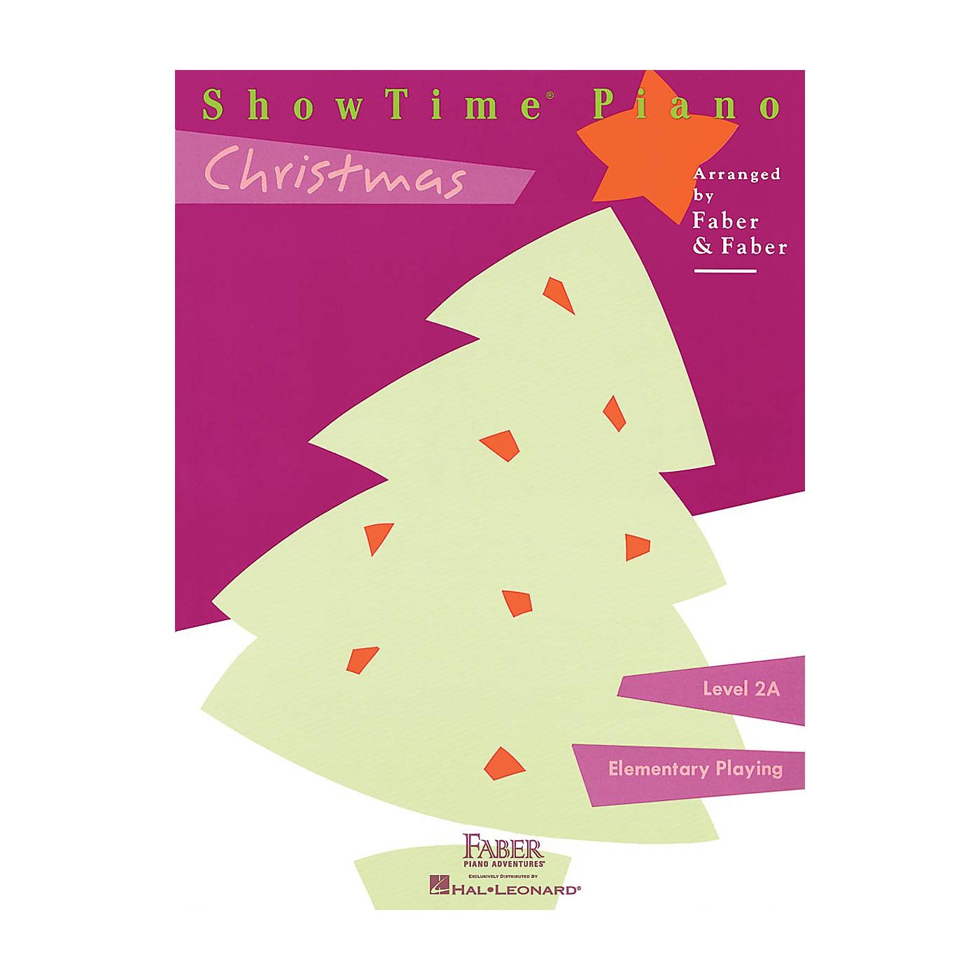 Faber Piano Adventures ShowTime Christmas (Level 2A) Faber Piano Adventures Series CD thumbnail