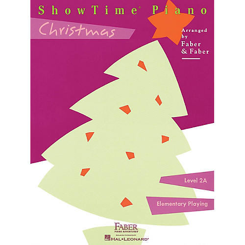 Faber Piano Adventures ShowTime Piano Christmas Level 2A thumbnail