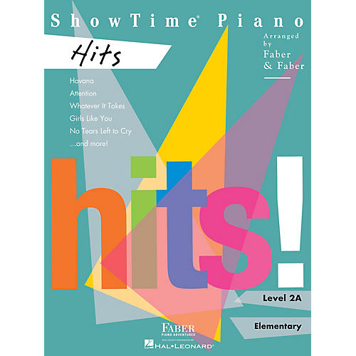 Faber Piano Adventures ShowTime Piano Hits Level 2A thumbnail