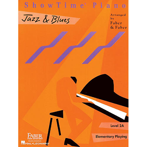 Faber Piano Adventures Showtime Jazz & Blues Level 1B-2A Faber Piano Adventures thumbnail