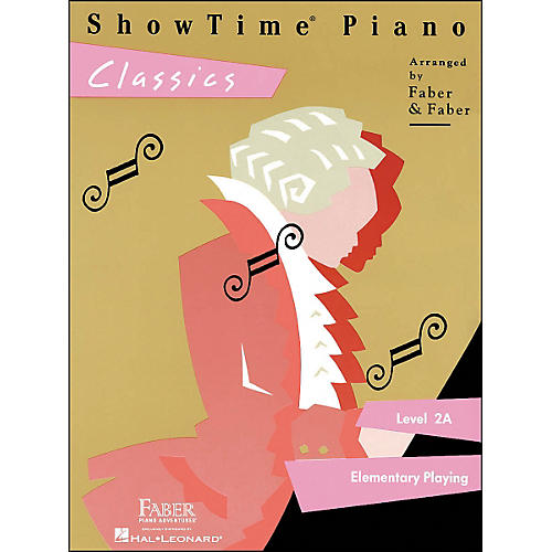 Faber Piano Adventures Showtime Piano Classics Level 2A Elementary Playing - Faber Piano thumbnail