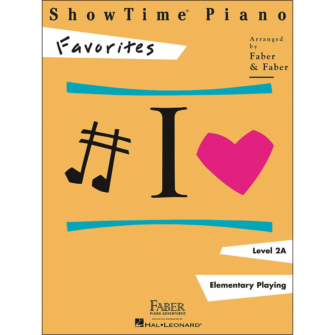 Faber Piano Adventures Showtime Piano Favorites Book Level 2A - Faber Piano thumbnail