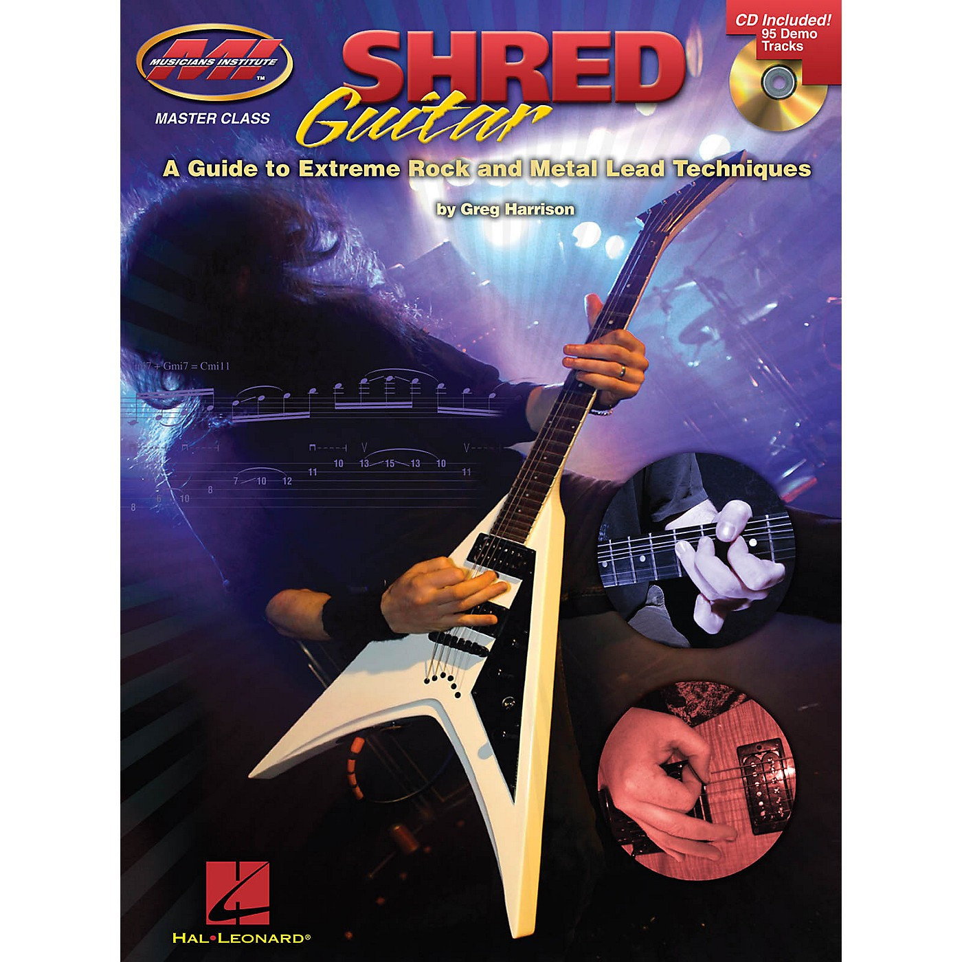 Musicians Institute Shred Guitar Musicians Institute Press Series Softcover with CD Written by Greg Harrison thumbnail