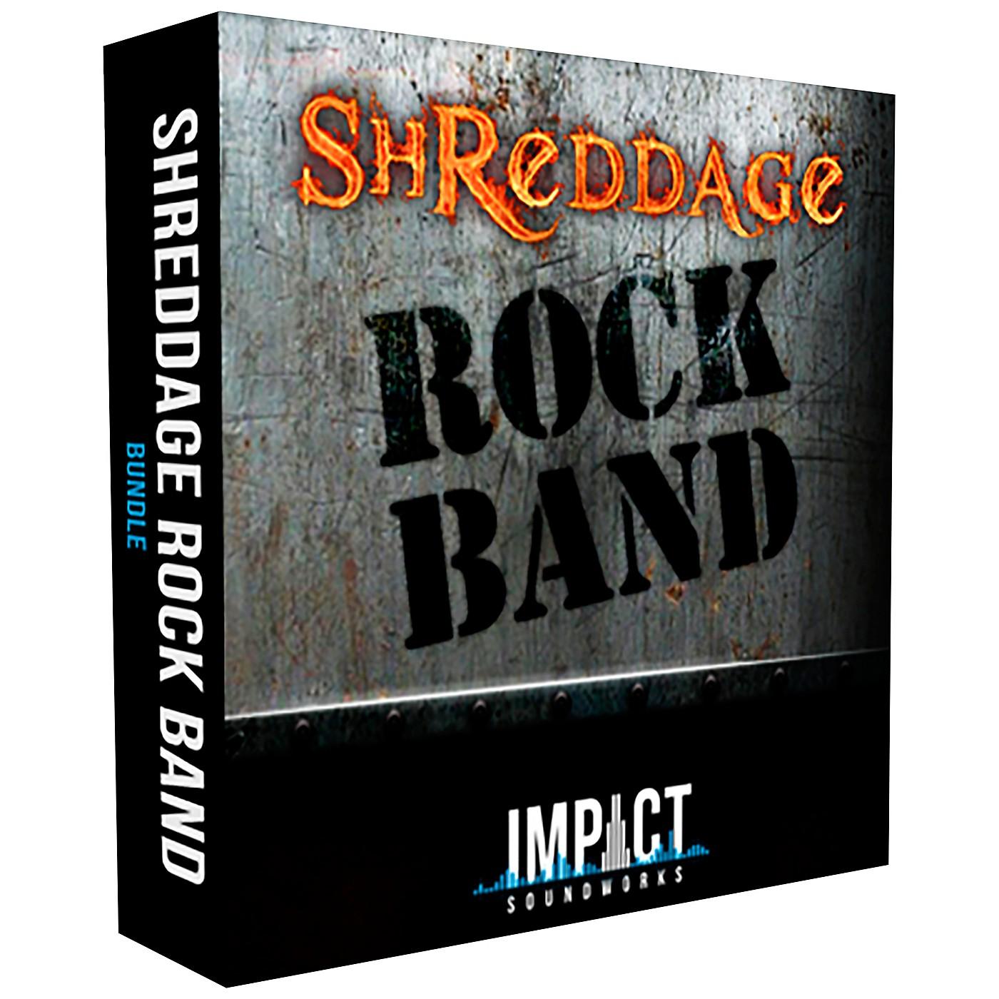 Impact Soundworks Shreddage 3 Rock Band (Download) thumbnail