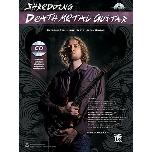 Alfred Shredding Death Metal Guitar Book & CD thumbnail