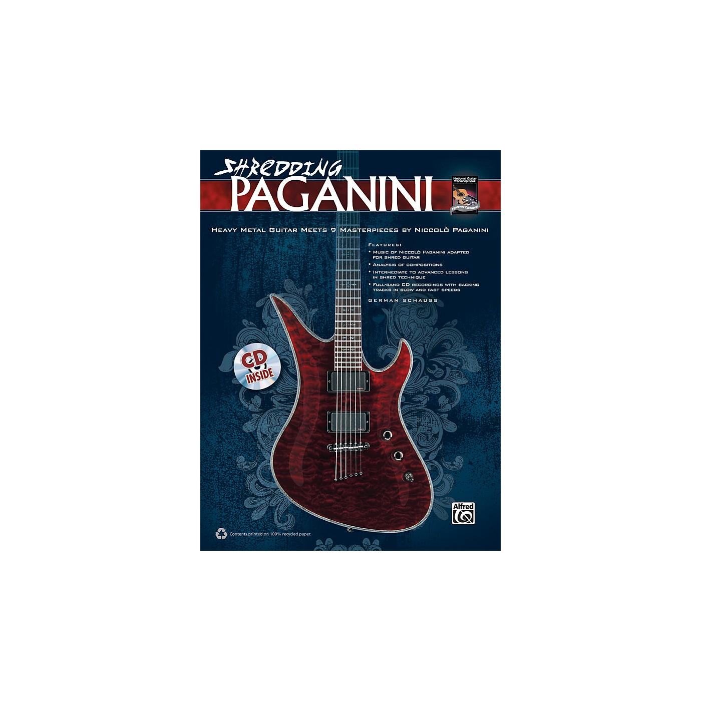 Alfred Shredding Paganini - Book & CD thumbnail