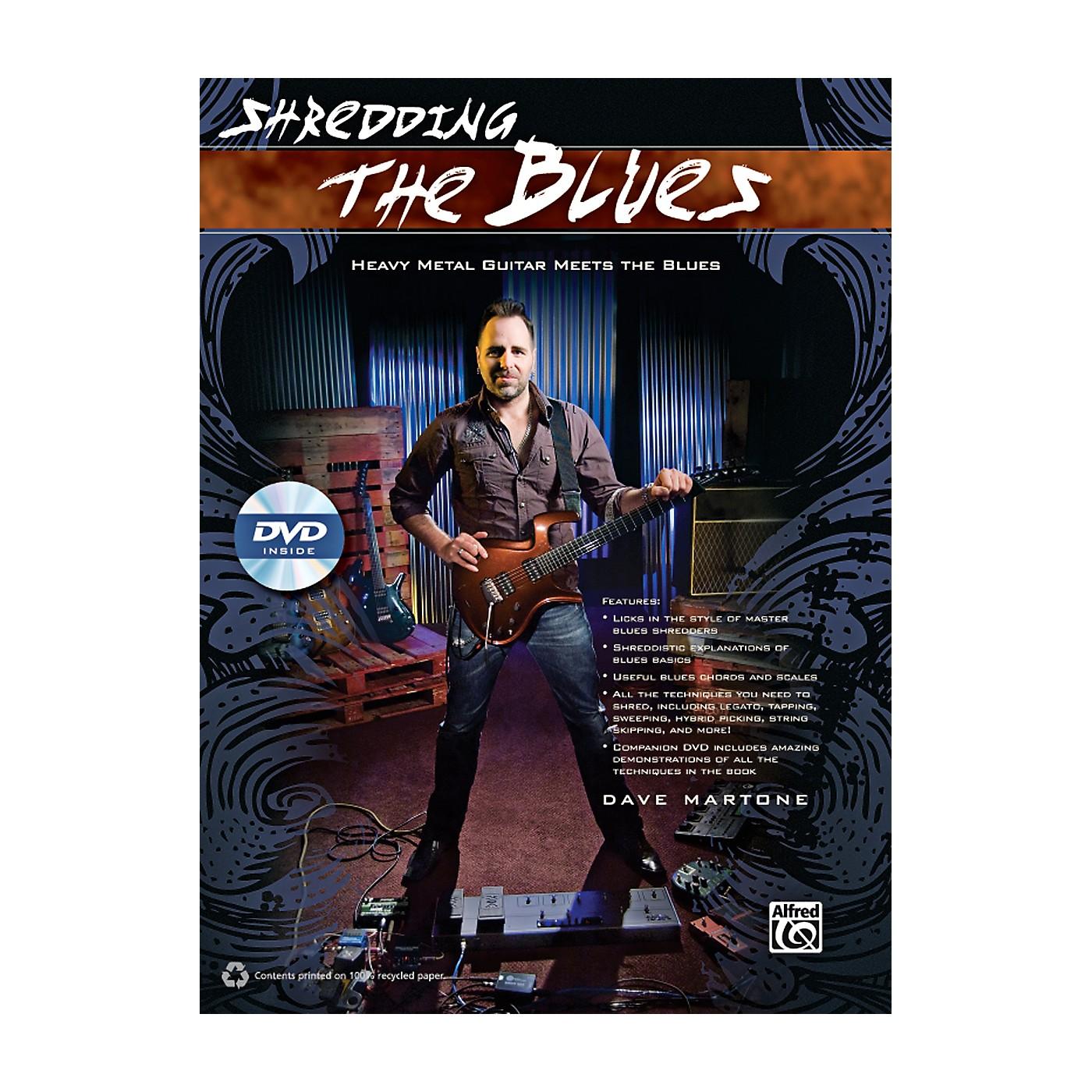 Alfred Shredding the Blues Book & DVD thumbnail