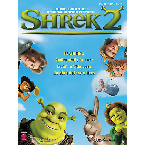 Cherry Lane Shrek 2 Piano, Vocal, Guitar Songbook thumbnail