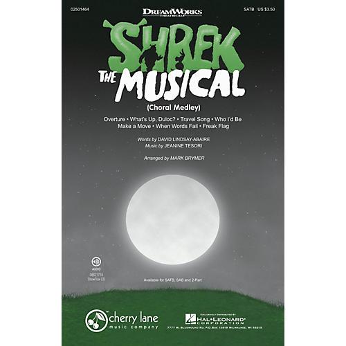 Cherry Lane Shrek: The Musical (Choral Medley) SATB arranged by Mark Brymer thumbnail