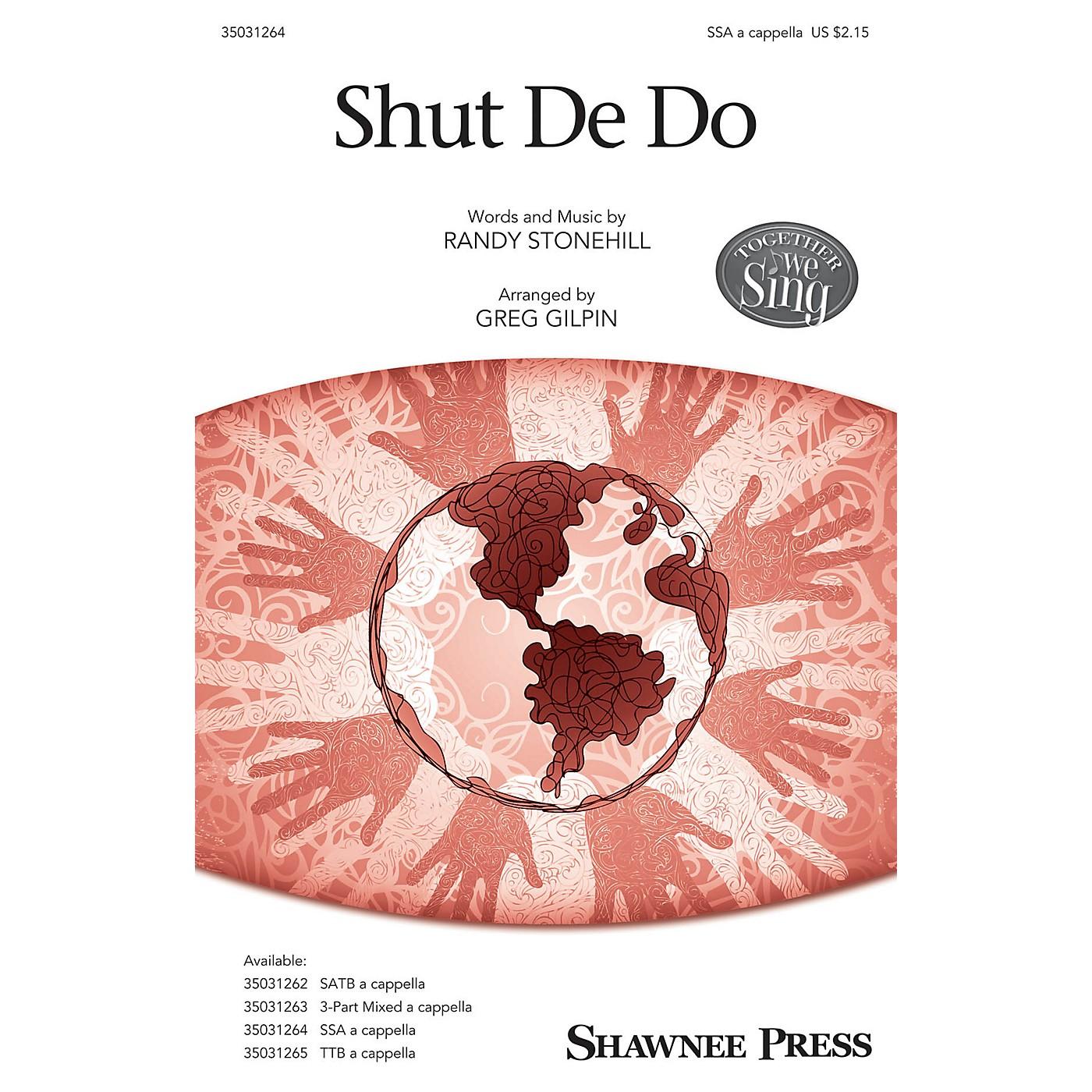 Shawnee Press Shut De Do SSA arranged by Greg Gilpin thumbnail