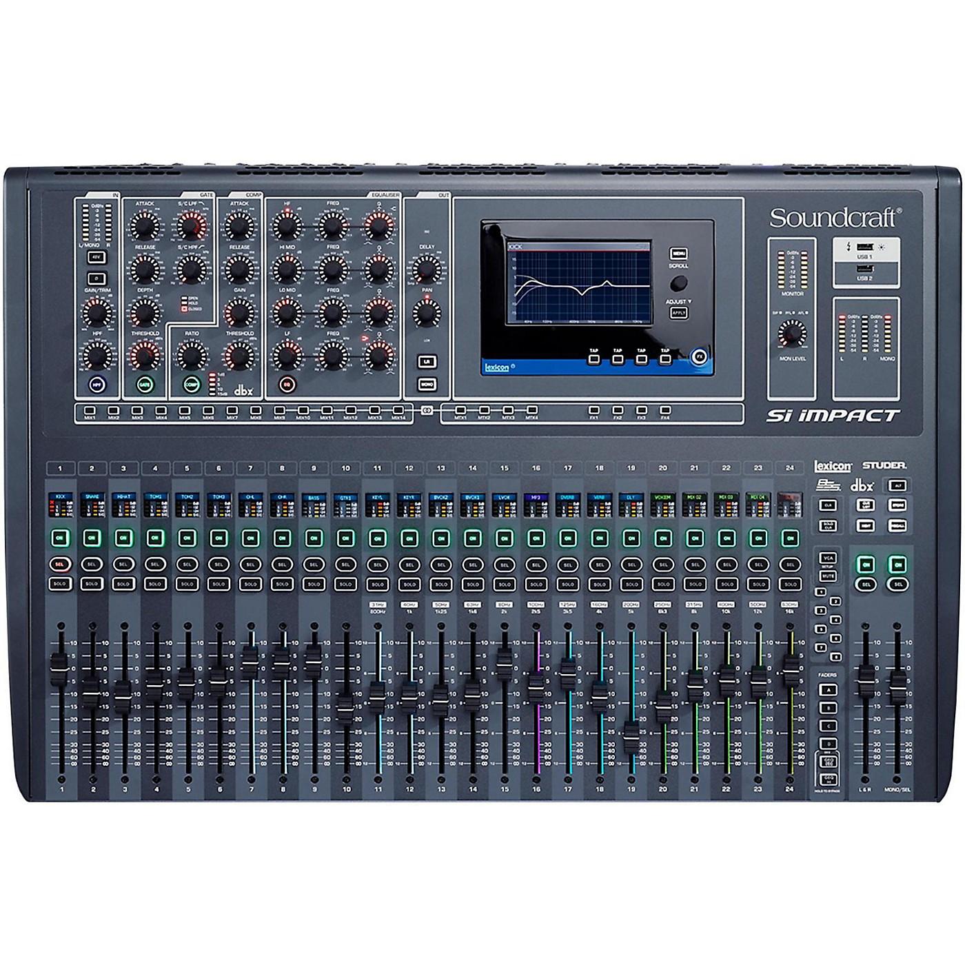 Soundcraft Si Impact 32-Channel Digital Mixer thumbnail