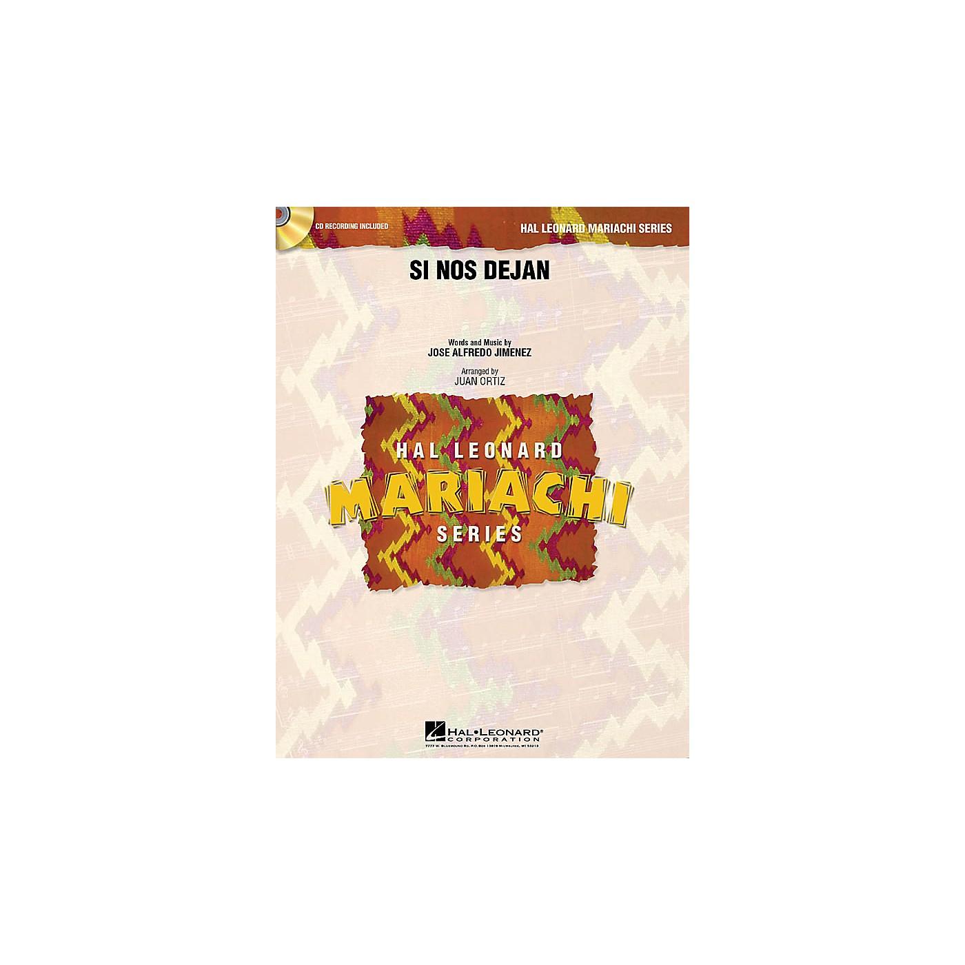 Hal Leonard Si Nos Dejan Concert Band Level 3 Arranged by Juan Ortiz thumbnail