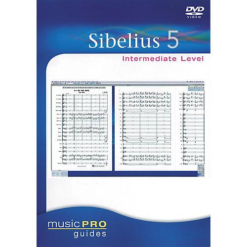 Hal Leonard Sibelius 5 Intermediate - Music Pro Series (DVD)-thumbnail