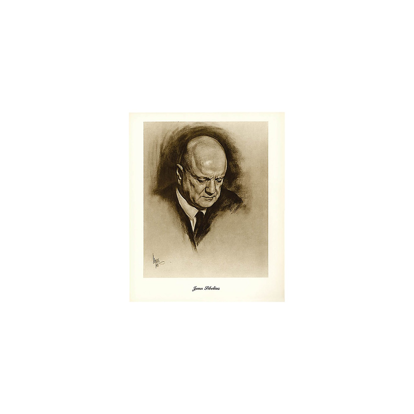 Music Sales Sibelius (Lupas Small Portrait Poster) Music Sales America Series thumbnail