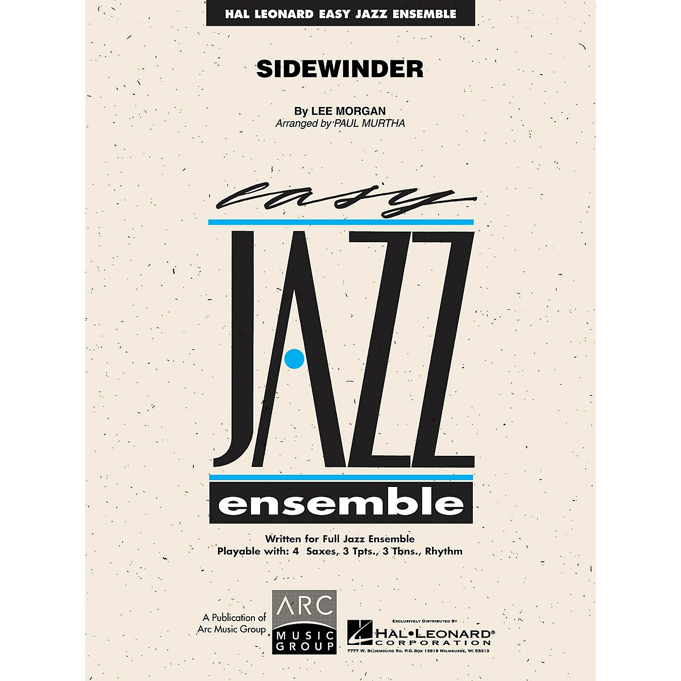 Hal Leonard Sidewinder Jazz Band Level 2 Arranged by Paul Murtha thumbnail