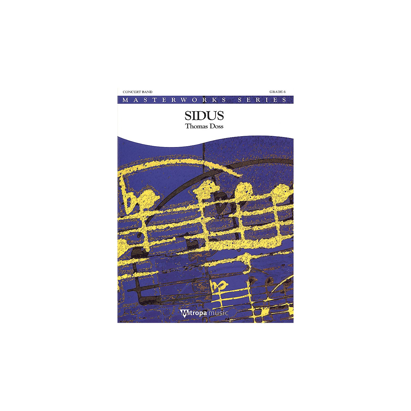 De Haske Music Sidus (Score and Parts) Concert Band Level 5-6 Composed by Thomas Doss thumbnail