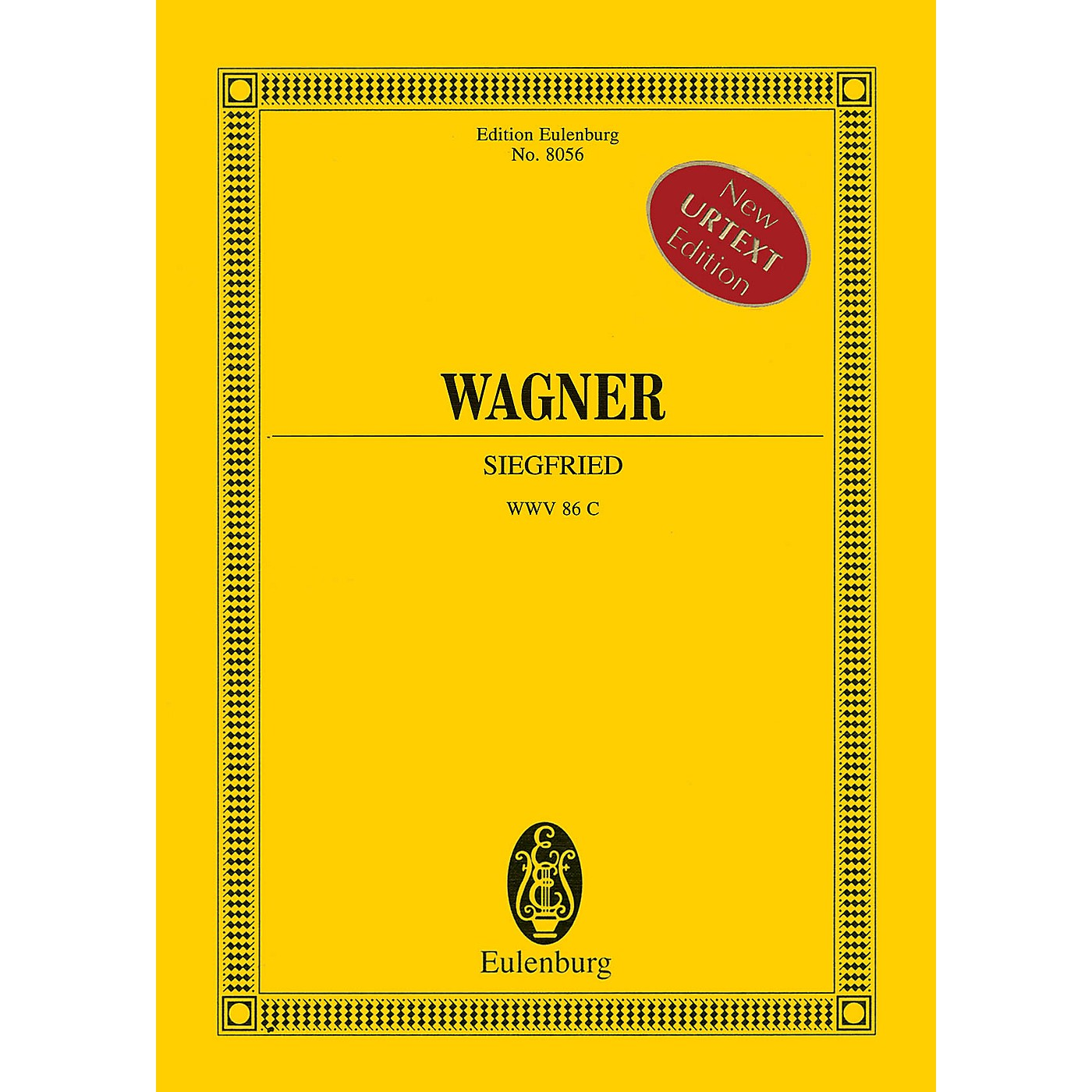 Eulenburg Siegfried (Study Score) Study Score Series Softcover Composed by Richard Wagner Edited by Egon Voss thumbnail