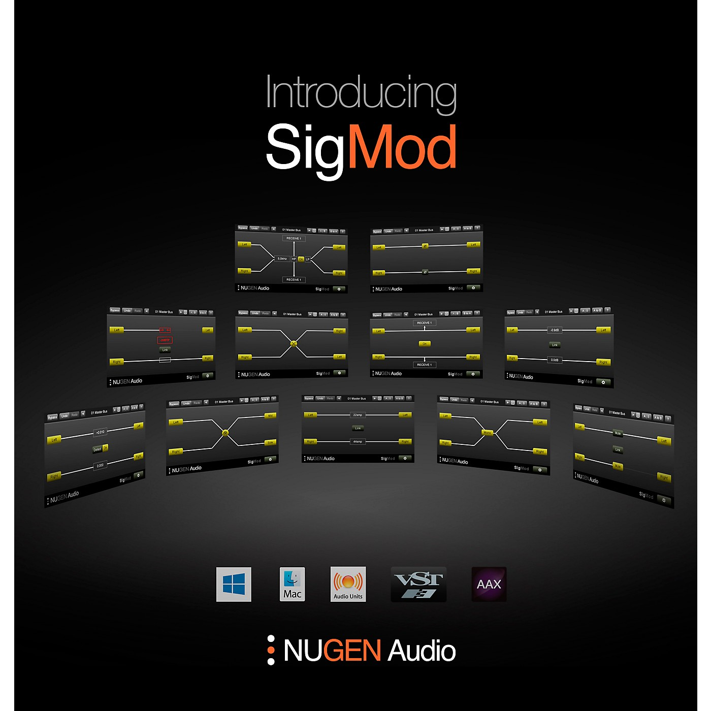 NuGen Audio SigMod Signal Modification Plug-in Modules thumbnail