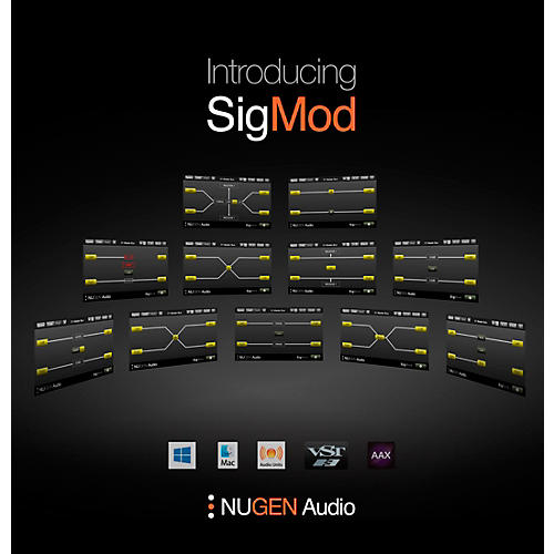 NuGen Audio SigMod Signal Modification Plug-in Modules thumbnail