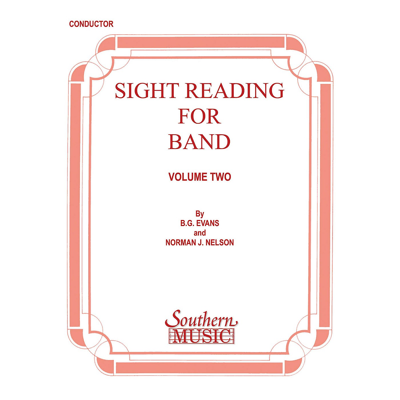 Southern Sight Reading for Band, Book 2 (Percussion 2) Southern Music Series Composed by Billy Evans thumbnail