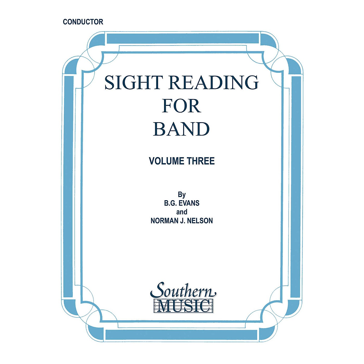 Southern Sight Reading for Band, Book 3 (Baritone Saxophone) Southern Music Series  by Billy Evans thumbnail