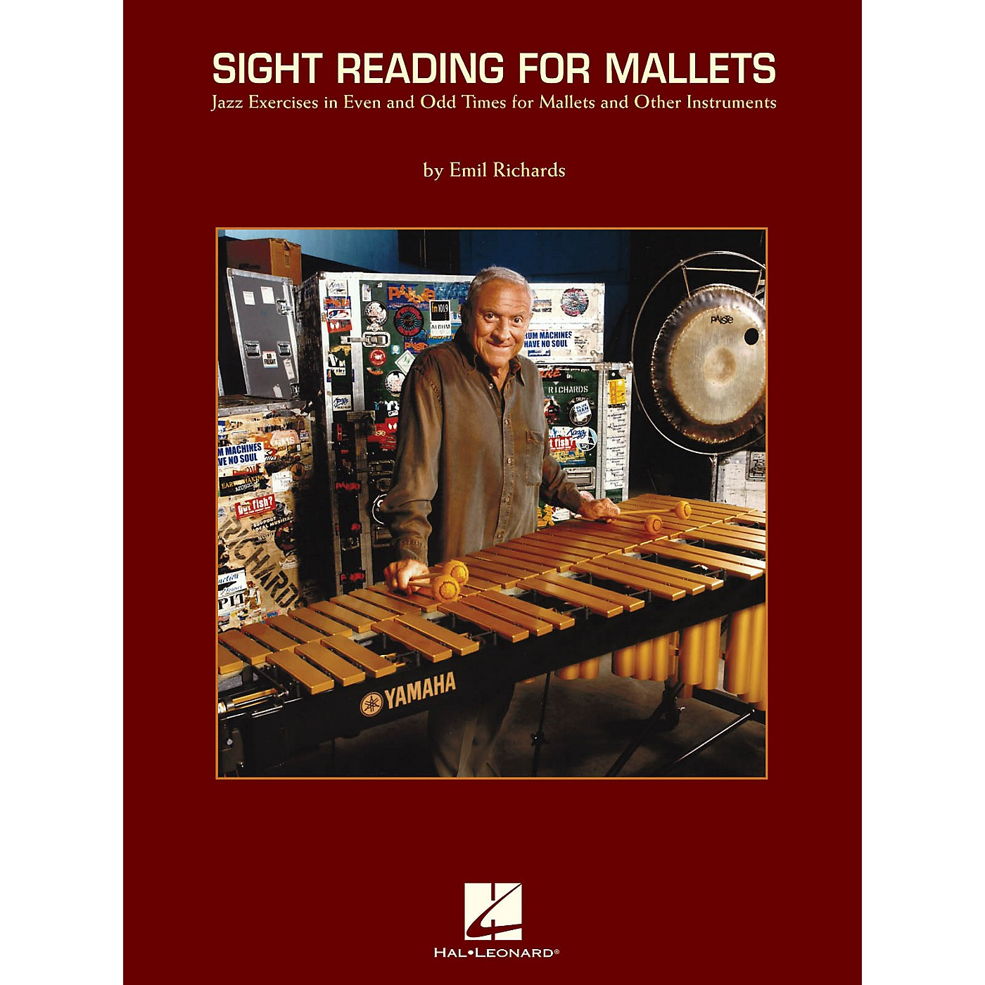 Hal Leonard Sight Reading for Mallets Percussion Series Softcover Written by Emil Richards thumbnail