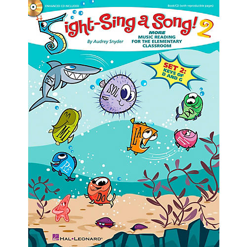 Hal Leonard Sight-Sing a Song! (Set 2) More Music Reading for the Elementary Classroom Book/CD thumbnail
