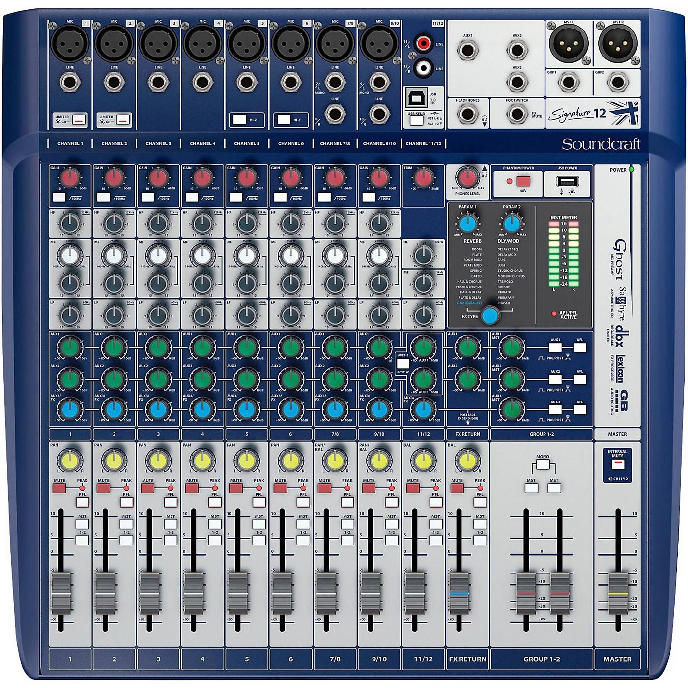 Soundcraft Signature 12 Analog Mixer thumbnail