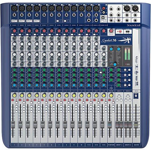 Soundcraft Signature 16 Analog Mixer thumbnail