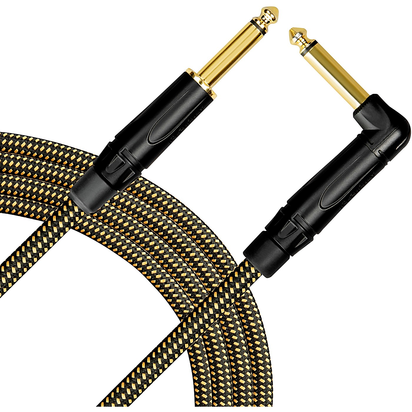 Livewire Signature Guitar Cable Straight/Angle Black and Yellow thumbnail