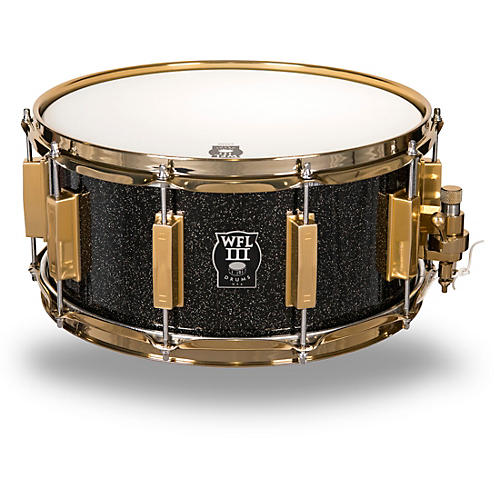 wfliii drums signature metal snare drum with gold hardware woodwind brasswind. Black Bedroom Furniture Sets. Home Design Ideas